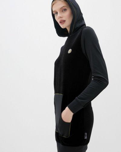 Черное спортивное платье Plein Sport