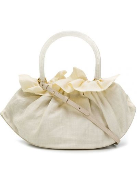 Biała torebka bawełniana Cafuné