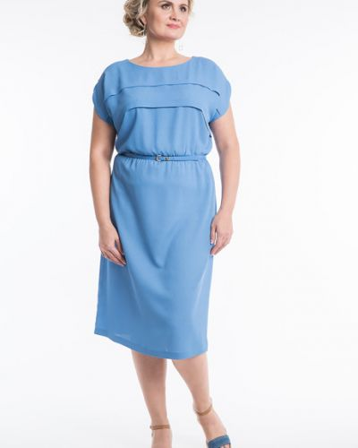 Платье на пуговицах со складками Virgi Style