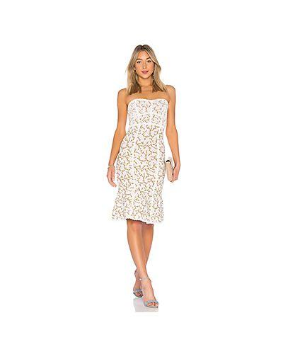 Платье шелковое трикотажное Bcbgmaxazria