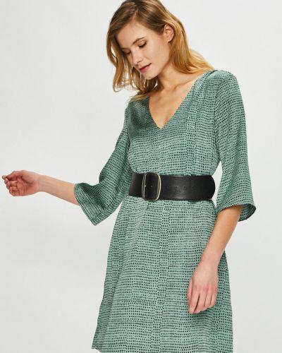 Платье мини с V-образным вырезом прямое Vila