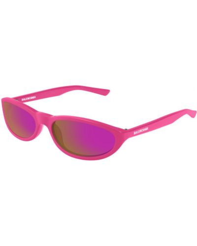 Różowe okulary Balenciaga