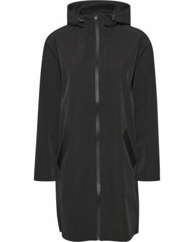 Czarny płaszcz oversize Soaked In Luxury