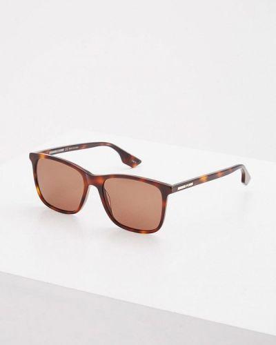 Коричневые солнцезащитные очки Mcq