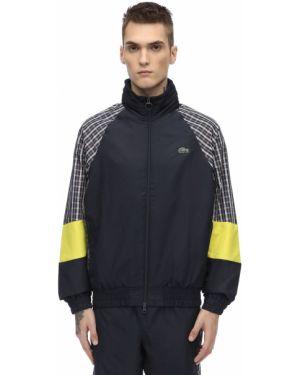 Куртка с вышивкой на резинке с рукавом реглан Lacoste
