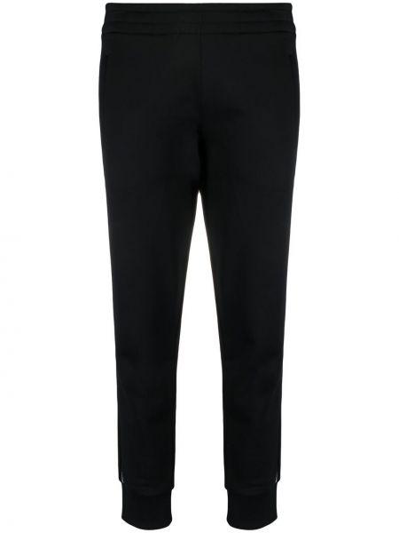 Ватные хлопковые черные брюки Alexanderwang.t