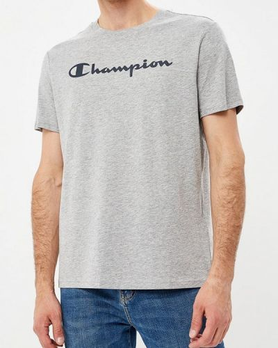 Серая футболка Champion