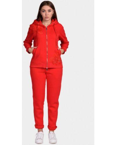 Спортивный костюм красный O&j