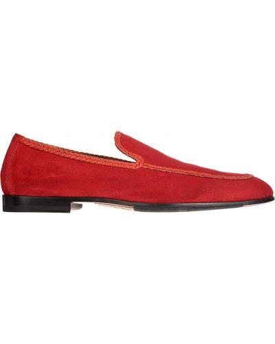 Кожаные туфли - красные Doucal's
