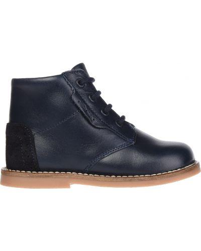 Ботинки синие Jacadi Paris