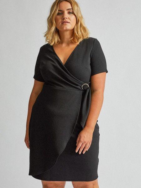 Повседневное платье черное весеннее Dorothy Perkins Curve