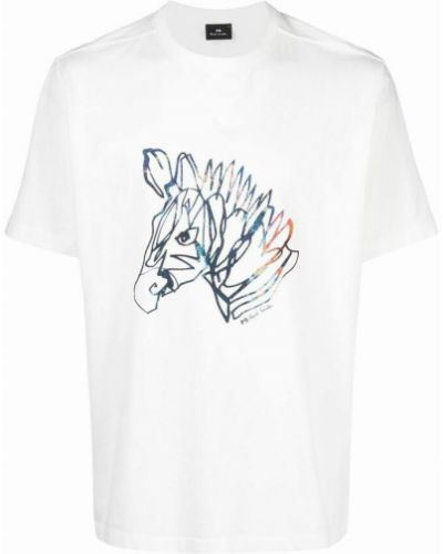Beżowa t-shirt Paul Smith