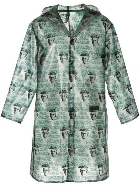 Płaszcz przeciwdeszczowy długo zielony Undercover