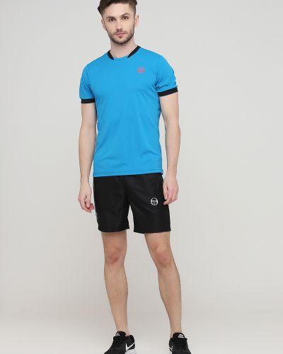 Спортивные шорты - черные Sergio Tacchini