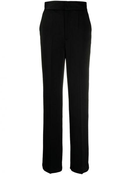 Черные с завышенной талией брюки с карманами Ba&sh