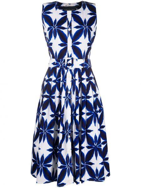 Платье платье-рубашка синее Samantha Sung