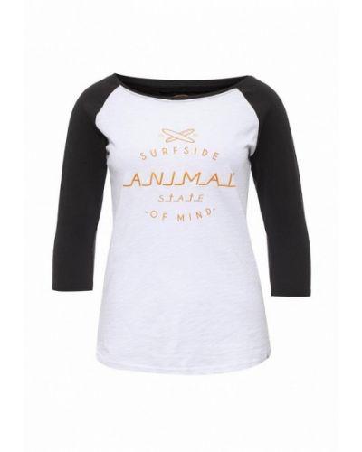 Лонгслив - белая Animal