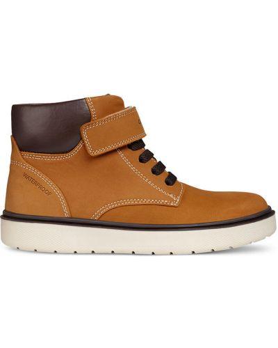 Ботинки теплые текстильные Geox