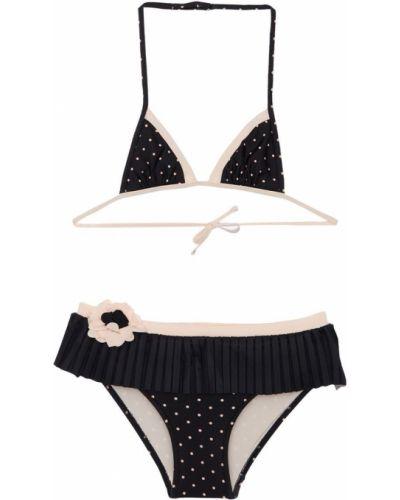 Czarny bikini z printem La Perla