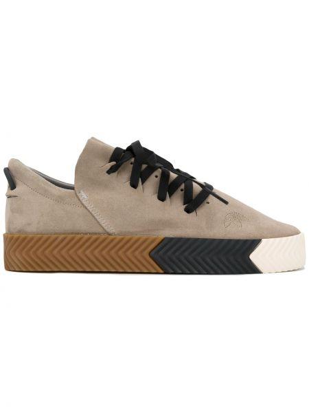 Кожаные кроссовки Adidas Originals By Alexander Wang