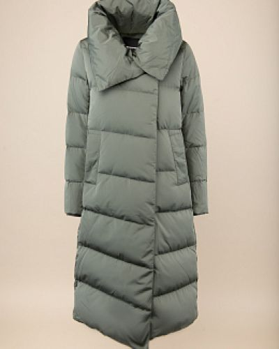 Пуховик-пальто - серый Snowimage