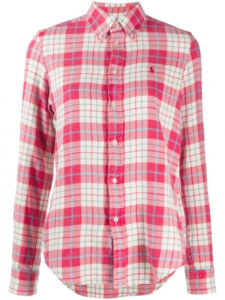 Рубашка с длинным рукавом - бежевая Polo Ralph Lauren