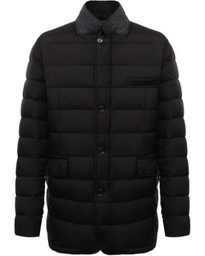 Черная шерстяная куртка Moorer