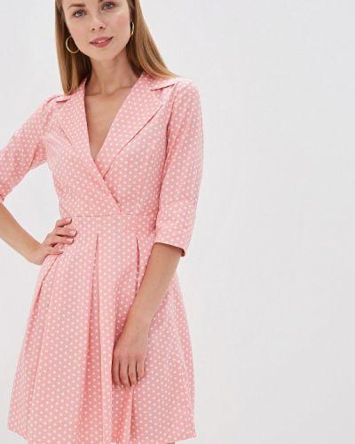Платье розовое прямое Tutto Bene
