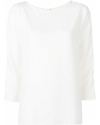 Блузка белая прямая Marcha