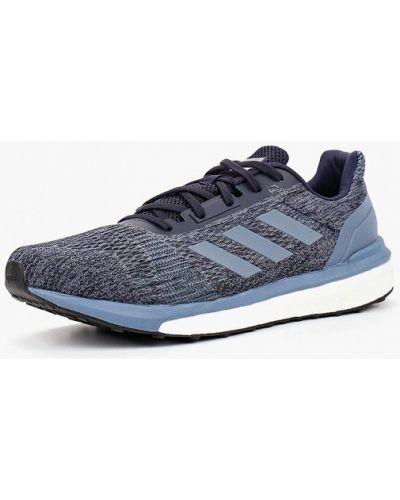 Синие кроссовки низкие Adidas