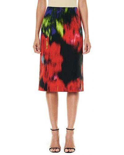 Klasyczna czarna spódnica maxi bawełniana Carolina Herrera