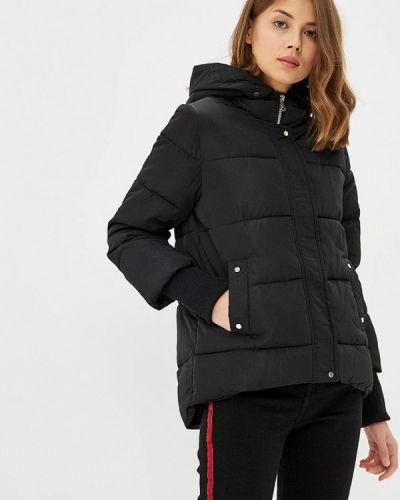 Зимняя куртка утепленная черная Modis