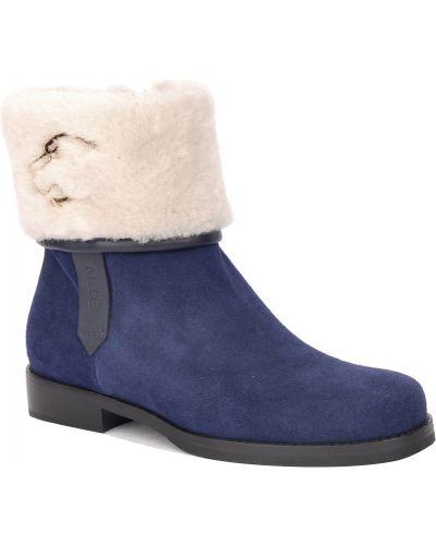 Ботинки на каблуке осенние замшевые Norma J.baker