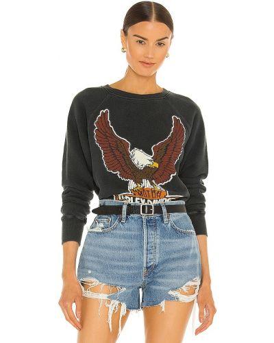 Bluza z nadrukiem vintage bawełniana z printem Madeworn