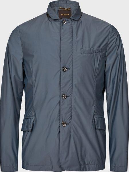 Куртка на пуговицах - серая Moorer