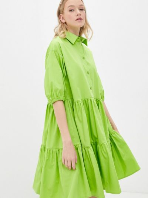 Зеленое платье Danmaralex