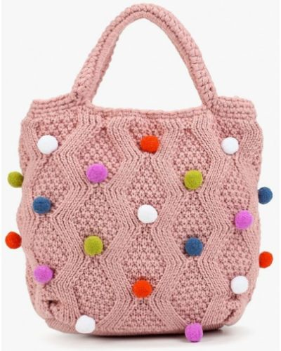 Розовая сумка United Colors Of Benetton