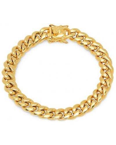 Золотой браслет золотой позолоченный Anthony Jacobs
