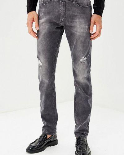 Серые джинсы Gaudi