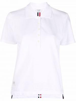 Biała koszulka bawełniana Thom Browne