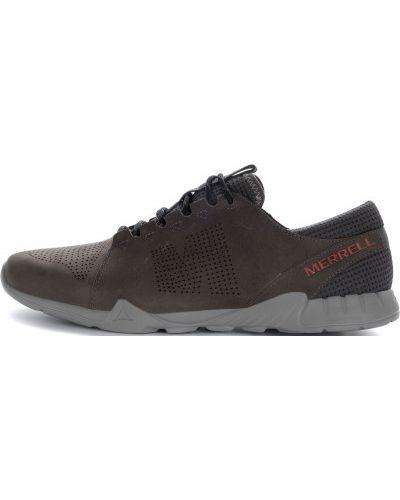 Кожаные полуботинки на шнуровке Merrell