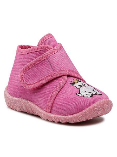 Sandały - różowe Superfit