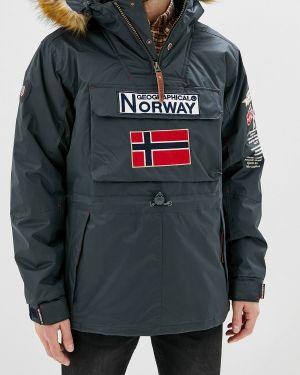 Утепленная куртка синяя Geographical Norway