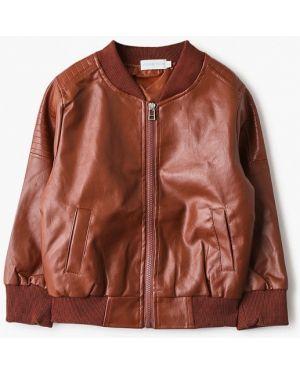 Куртка кожаная оранжевый Moon River