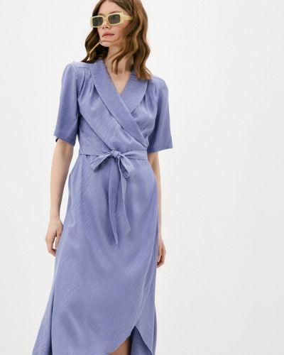 Фиолетовое платье с запахом Twist & Tango