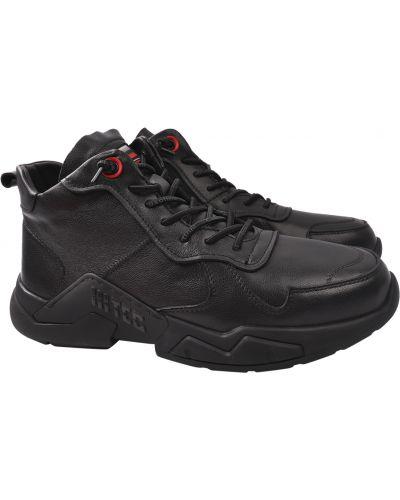 Кожаные ботинки - черные Cosottinni
