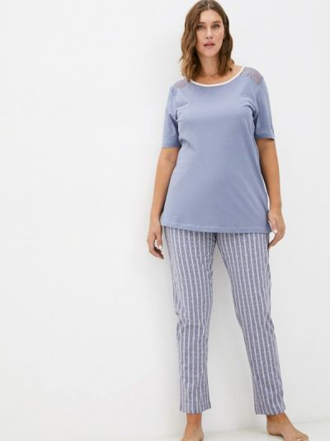 Пижама - голубая Ulla Popken