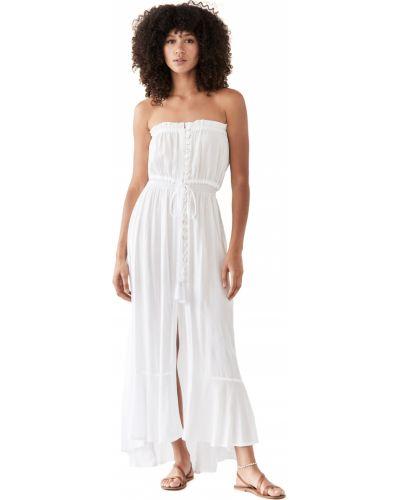 Облегающее платье макси - белое Tiare Hawaii