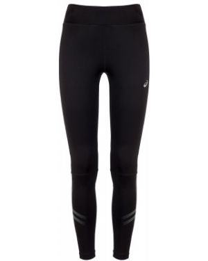 Спортивные облегающие компрессионные черные брюки Asics
