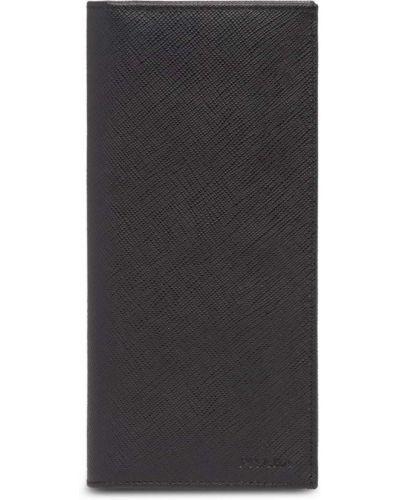 Папка черный с логотипом Prada